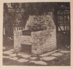 Barbeque for Patio or Lawn  Vintage Woodworking Plan.