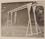 Sturdy Monkey-Bar Set Vintage Woodworking Plan.