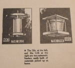 R-ANH1012 - 2 Bird Feeder Vintage Woodworking Plans, The Silo and The Crib