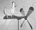 Quick Chick Windmill Vintage Woodworking Plan.