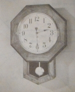 R-ANH1084 - School Clock Vintage Woodworking Plan.