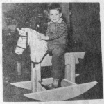 Rock em Cowboy Vintage Woodworking Plan.