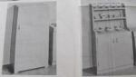 Appliances Refrigerator and Hutch Playhouse Vintage Woodworking Plan.