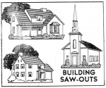 R-ANH1259 - Building Saw-Outs Vintage Woodworking Plan.