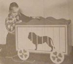 R-ANH1290 - Circus Wagon Toy Chest Vintage Woodworking Plan.