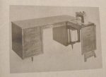 Double Duty Desk Vintage Woodworking Plan