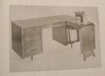 Double Duty Desk Vintage Woodworking Plan