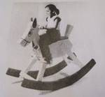 Rocking Mule That Does Not Balk Vintage Woodworking Plan, childs rocking mules,children rockers,kids toys,full sized patterns,rocking horses,animals,donkeys,vintage woodworking plans,old projects,recycled,woodworkers projects,blueprints,drawings,blueprints,h