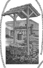 R-ASKS122 - Wishing Well Vintage Woodworking Plan.