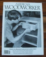 American Woodworker Issue 22 October 1991 Recycled Woodworking Magazine