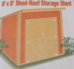 Storage Shed Vintage Woodworking Plan