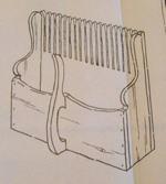Cap Cod Cranberry Scoop Magazine Rack plus 2 Vintage Woodworking Plan