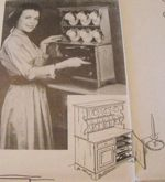 Miniature Cupboard for Silverware Vintage Woodworking Plan, silverware chests,forks,knives,spoons,storage,full sized patterns,vintage woodworking plans,old projects,recycled,woodworkers projects,blueprints,drawings,blueprints,how-to-build