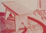 Fireside Bench Vintage Woodworking Plan