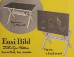 R-EB117 - Childs Blackboard Table Vintage Woodworking Plan