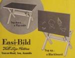 Childs Blackboard Table Vintage Woodworking Plan