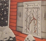 Christmas Window Vintage Woodworking Plan