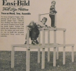 R-EB153 - Jungle Gym Vintage Woodworking Plan