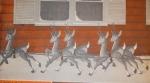 A Christmas Reindeer Vintage Woodworking Plan.