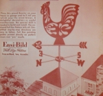 R-EB524 - Rooster Weather Vane Vintage Woodworking Plan