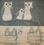 Wise Owl Markers Vintage Woodworking Plan.