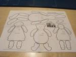 Twine Babies Vintage Woodworking Scrollsaw Pattern