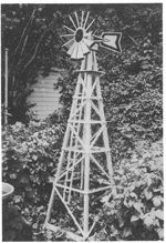 R-MP194 - Farm Windmill Woodworking Plan.