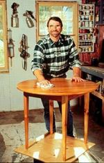 R-NYW0098-01 - Irish Table Woodworking Plan Featuring Norm Abram
