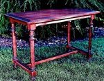 R-NYW0112 - Monastry Table Woodworking Plan Featuring Norm Abram