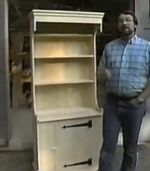 R-NYW0204 - Kitchen Cupboard Woodworking Plan Featuring Norm Abram