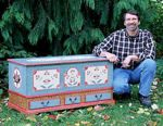 The Dower Chest Woodworking Plan Featuring Norm Abram, dower chests,storage trunks,Pennsylvania Dutch style,New Yankee Workshop projects,woodworking plans,woodworkers projects,blueprints,drawings,blueprints,how-to-build