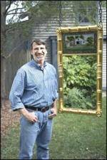 R-NYW0701 - Giltwood Mirror Woodworking Plan Featuring Norm Abram
