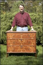 Taunton Chest Woodworking Plan Featuring Norm Abram, chest of drawers,Taunton,Massachusetts,Robert Crosman,scale sized patterns,New Yankee Workshop woodworking plans,Norm Abram craftsmanship,projects,recycled paper,woodworkers projects,blueprints,drawin