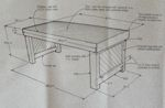 R-NYW4041 - Rustic Coffee Table Woodworking Plan Featuring Norm Abram