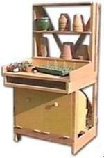 R-NYW4051 - Gardeners Workbench Woodworking Plan Featuring Norm Abram