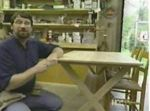R-NYW7011 - X-Brace Trestle Table Woodworking Plan Featuring Norm Abram