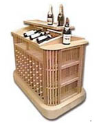 R-NYW8081 - Wine Storage Unit Woodworking Plan Featuring Norm Abram