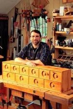 Nest of Drawers Woodworking Plan Featuring Norm Abram