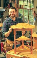 Turkey Table Woodworking Plan Featuring Norm Abram