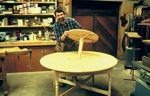 fee plans woodworking resource from WoodworkersWorkshop Online Store - tables,country-style,antiques,lazy susan,spinning top,scale sized patterns,New Yankee Workshop woodworking plans,Norm Abram craftsmanship,projects,recycled paper,woodworkers projects,blueprints,drawin