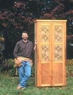 R-NYW9902 - Kitchen Pantry Woodworking Plan Featuring Norm Abram