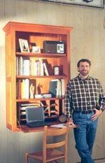 Kitchen Secretary Woodworking Plan Featuring Norm Abram