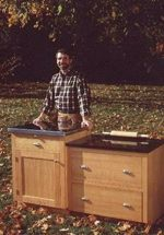 Bake Center Workstation Woodworking Plan Featuring Norm Abram