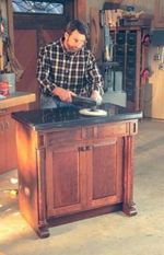 fee plans woodworking resource from WoodworkersWorkshop Online Store - sink base,cabinets,bathroom,scale sized patterns,New Yankee Workshop woodworking plans,Norm Abram craftsmanship,projects,recycled paper,woodworkers projects,blueprints,drawings,blueprints,how-to-build