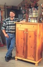 R-NYW9911 - Press Cupboard Woodworking Plan Featuring Norm Abram
