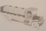 1912 White Gasoline Truck Vintage Woodworking Plan