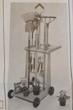 R-UBILD285 - Garden Cart Vintage Woodworking Plan