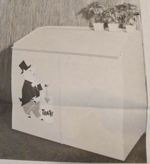 R-UBILD340 - Trash Can Shelter Vintage Woodworking Plan
