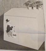 Trash Can Shelter Vintage Woodworking Plan