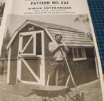 Little Red Barn Vintage Woodworking Plan